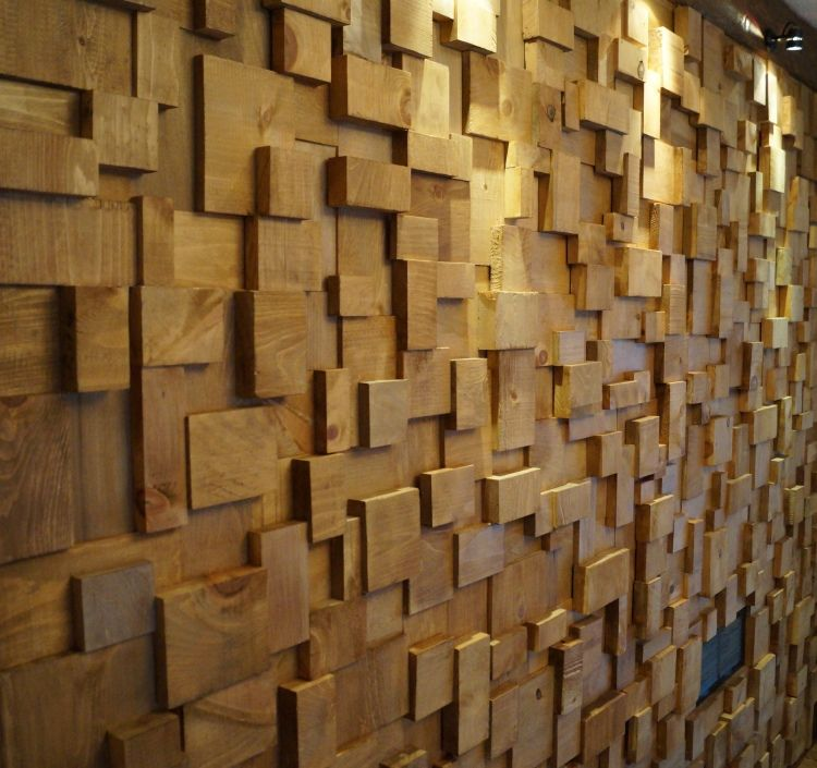 olga66 | eccentricity of wood | wall and window treatments