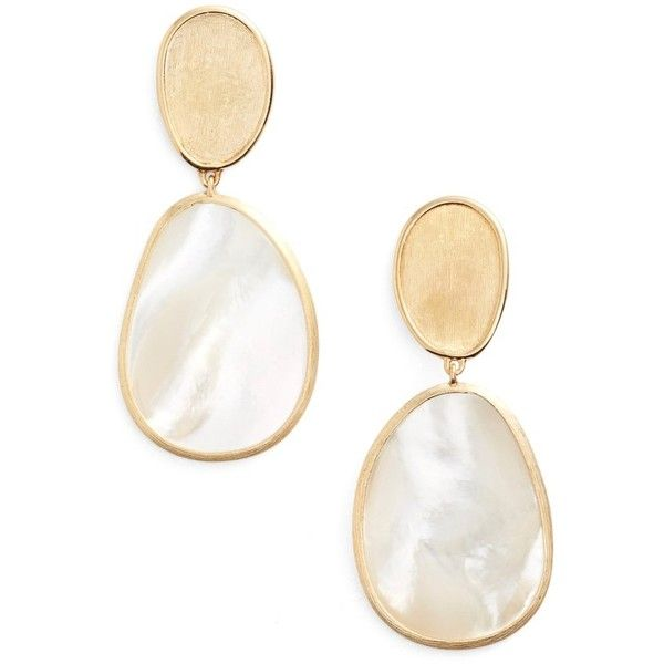 Marco Bicego 18k Mother-of-Pearl Drop Earrings 8DLsp2O