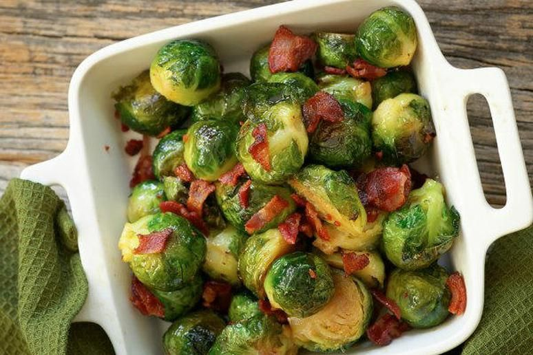 Roasted Brussels Sprouts With Bacon Recipe Sprouts