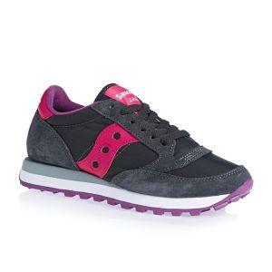 Saucony Originals Shoes - Saucony Originals Jazz Original Shoes - Charcoal/ pink