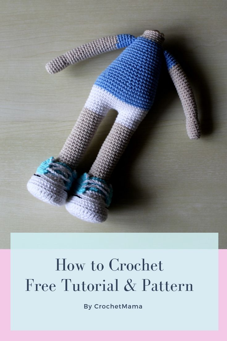 Crochet Doll - Free Tutorial & Pattern #dollsdollsdolls