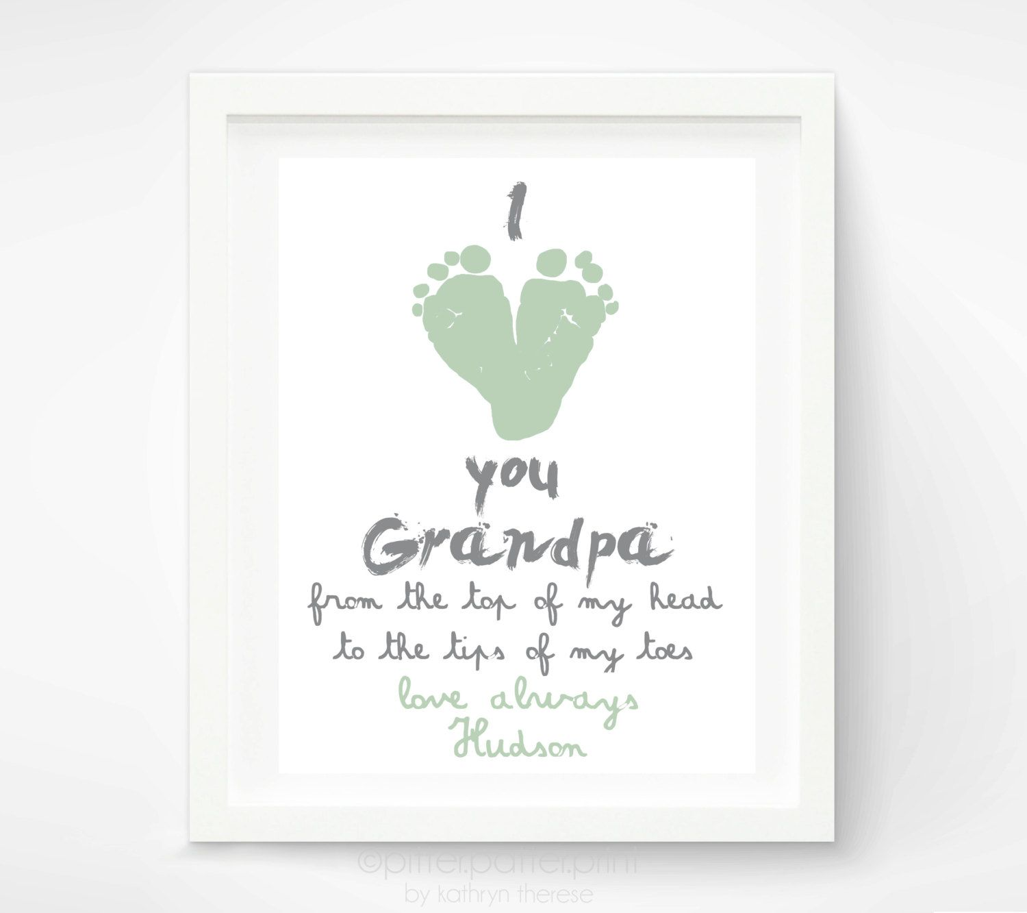 Father's Day Gifts for grandpa from kids - Google Search- cute and ...