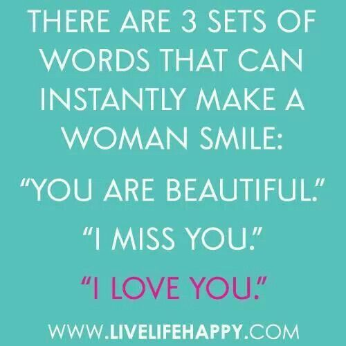 3 Things To Say. Woman SmileGirl SmilePhoto QuotesLife SayingsI Love ...