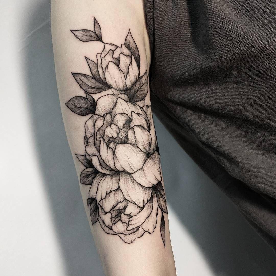 Pivoine Tatouage