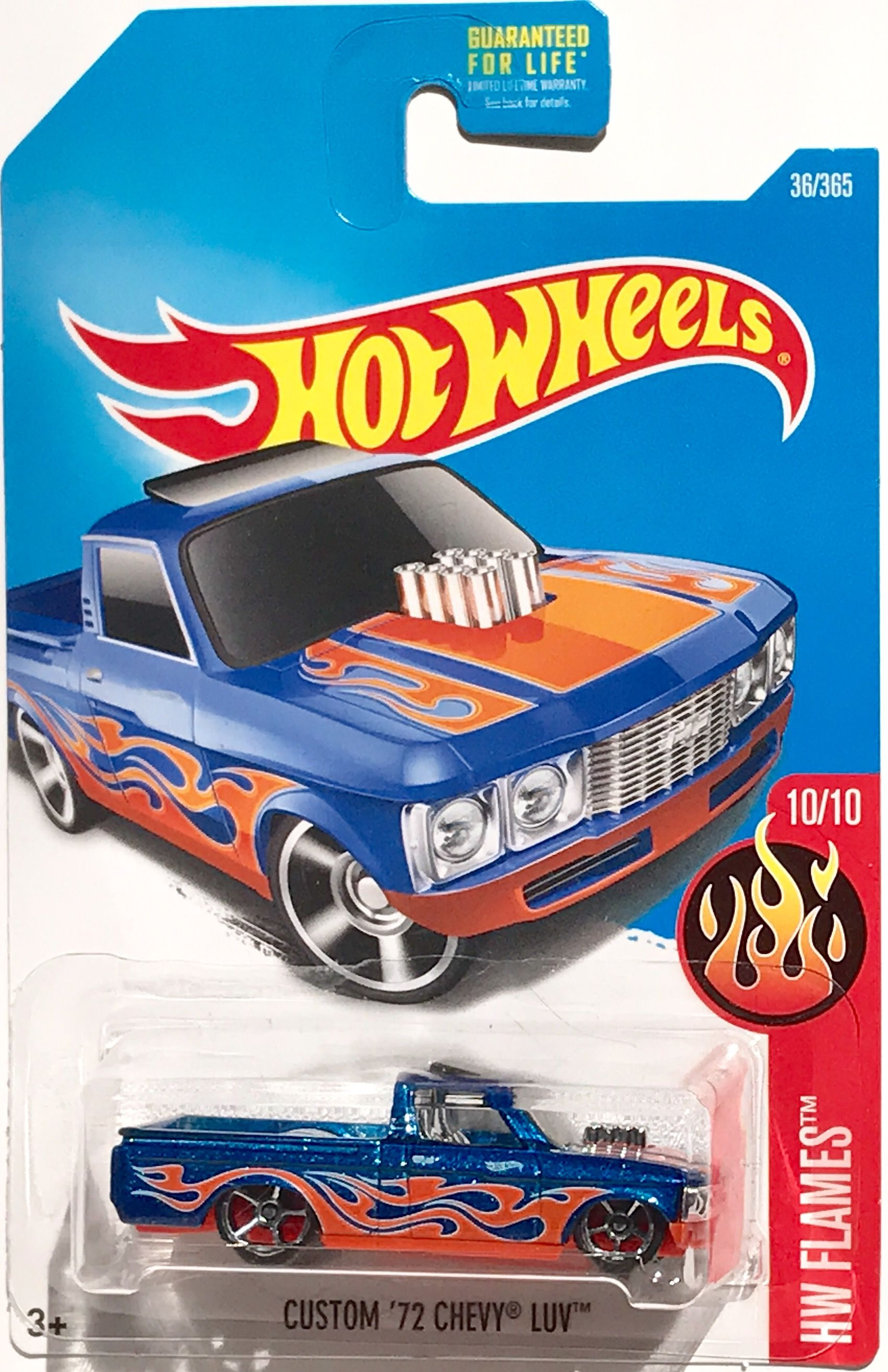 1972 Chevy Luv Hot Wheels Flames 2017 Hot Wheels Toys Chevy
