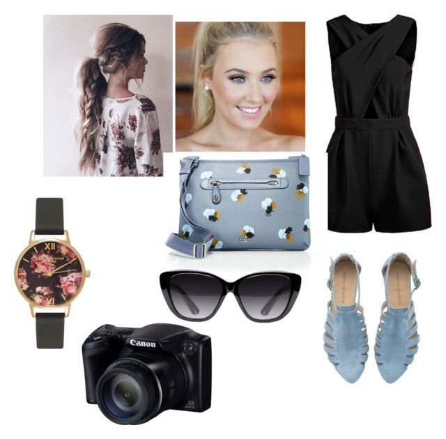 """""""Summer"""" by maysnow on Polyvore featuring Coach, Olivia Burton, Elizabeth and James, women's clothing, women, female, woman, misses and juniors"""
