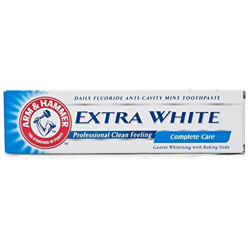 Arm and Hammer 125g Advance White Complete Care Arm & Hammer http://www.amazon.co.uk/dp/B003545ASA/ref=cm_sw_r_pi_dp_vgudvb1NW6HM3