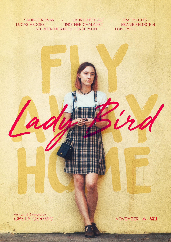 Lady Bird Posterspy Lady Bird Lady Film Poster Design