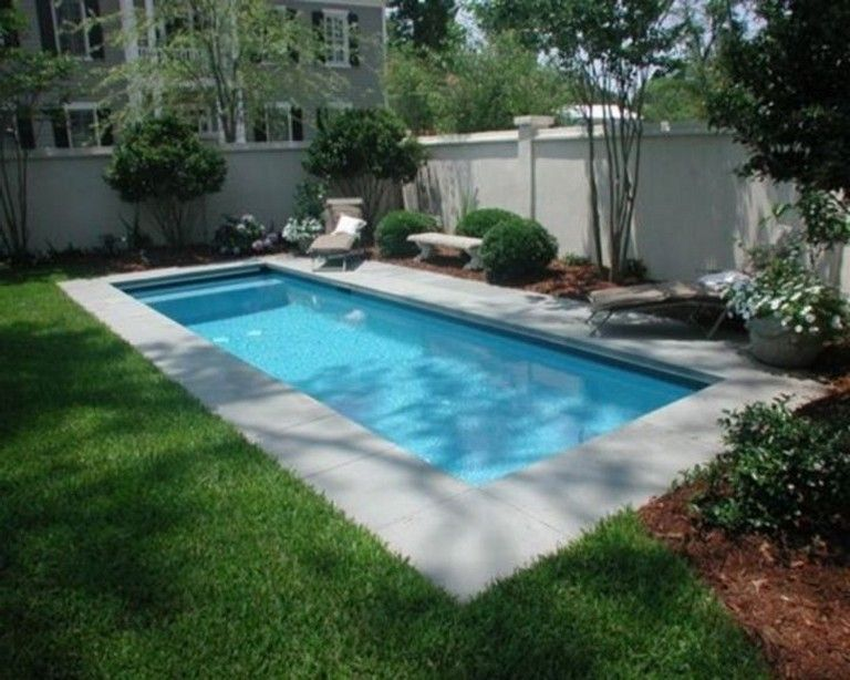14 Best Small Pool Design Ideas For Your Small Yard Pool Design Ideas Small Pool Design Small Backyard Pools Backyard Pool Landscaping
