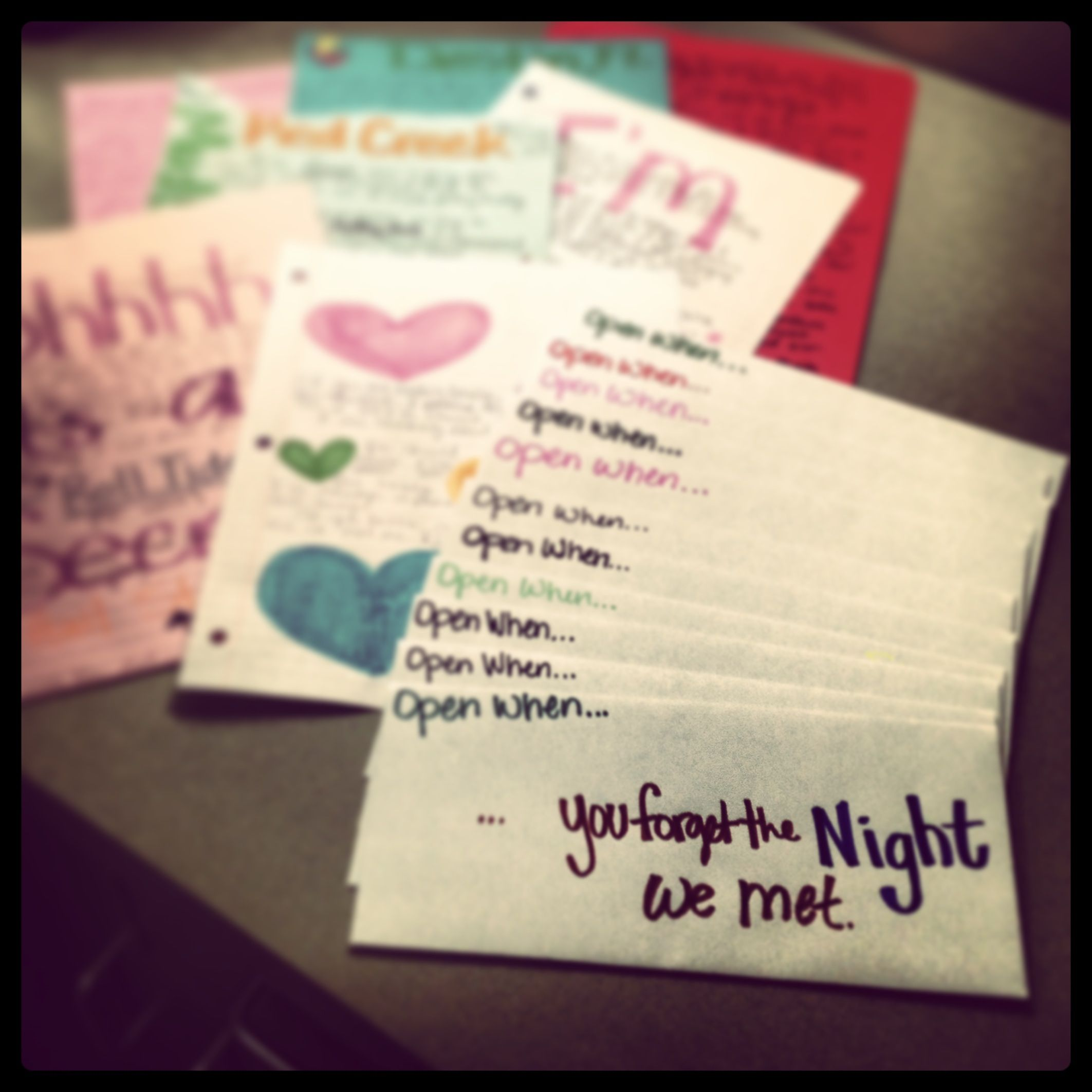 """""""Open When"""" Letters I Made For My Darlin. I Can Do This"""