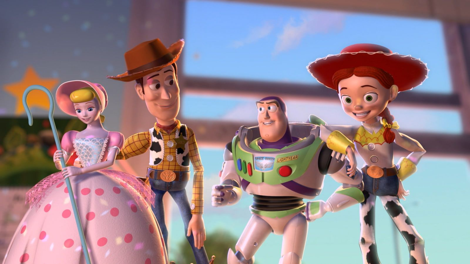 Toy Story Bo Peep Buzz Lightyear Jessie Toy Story Woody Toy Story 720p Wallpaper Hdwallpaper Desktop Jessie Toy Story Jessie Doll Woody Toy Story