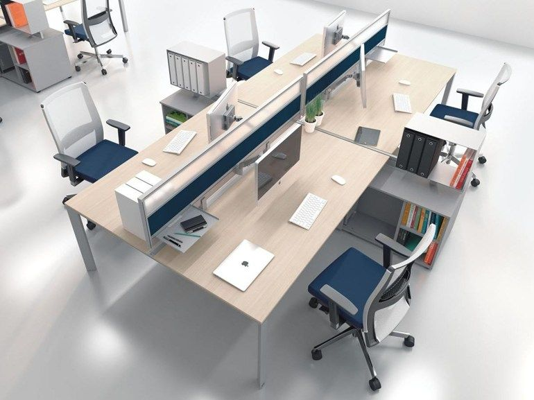 Mobili Per Studio.5th Element Multiple Office Workstation By Las Mobili Design