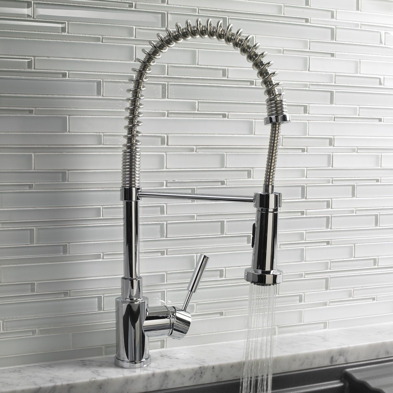Delightful The Benefits Of A Pre Rinse Kitchen Faucet