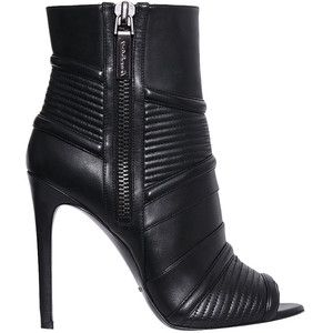 Balmain open-toe ankle boots discount eastbay bYkDK5