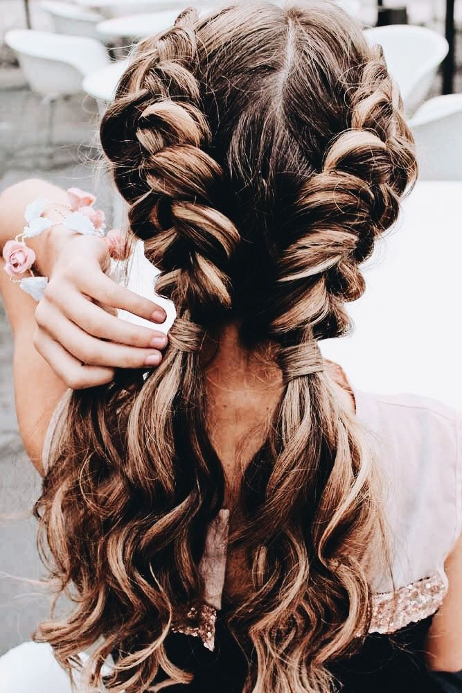 Pin By Nekhia Tren E On Chevelure Cool Hairstyles Braids For Long Hair Long Hair Styles