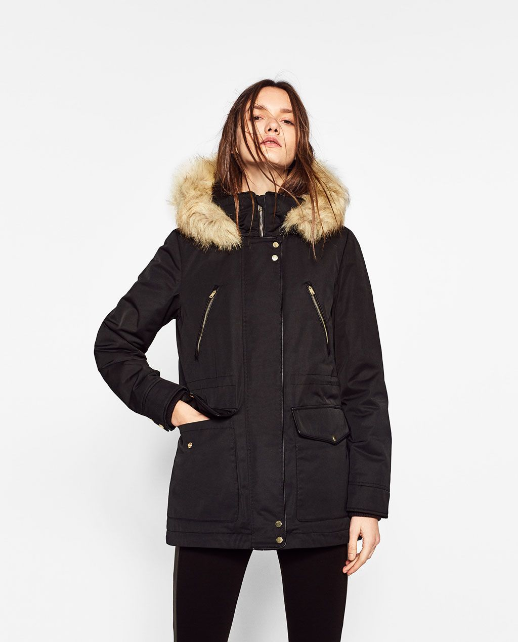 0d03392a PARKA STYLE COAT-COATS-TRF | ZARA United States | Fashion for a ...