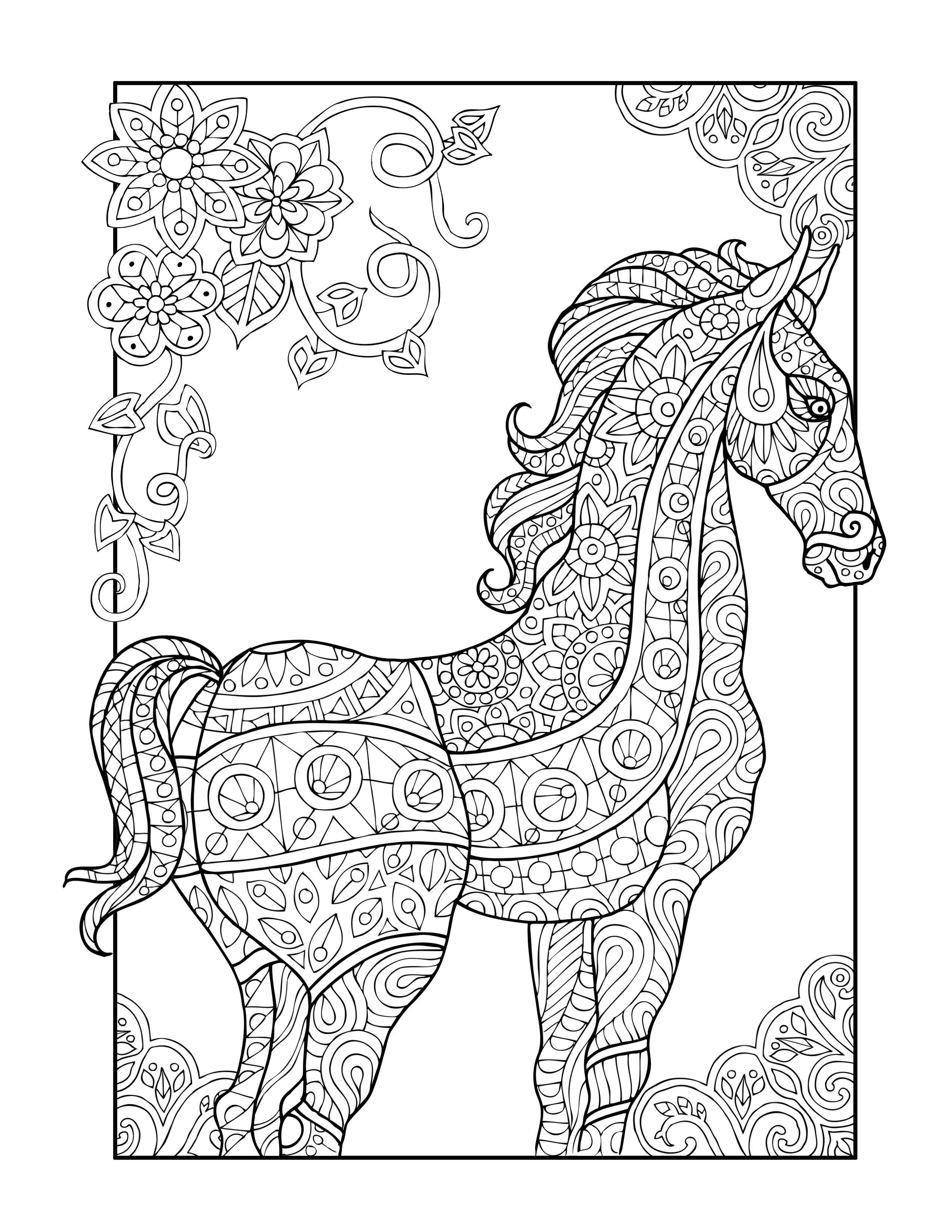 Pin On Adult Coloring Book Pages And Doodles [ 3300 x 2550 Pixel ]