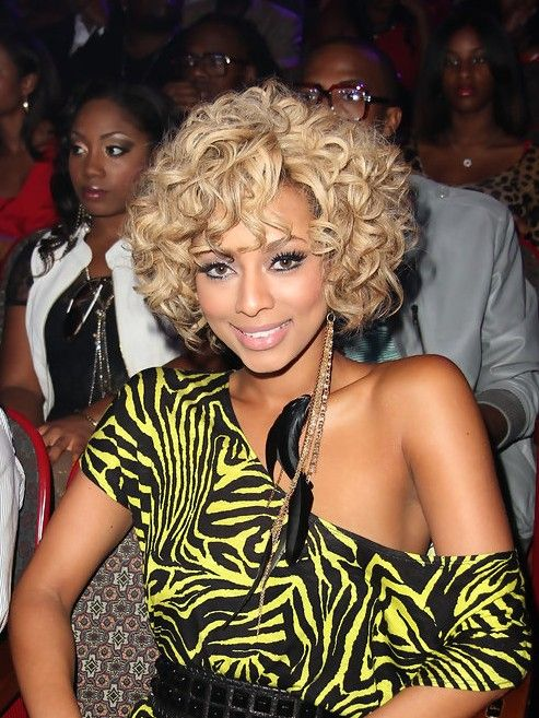keri hilson big wavy curly hairstyle