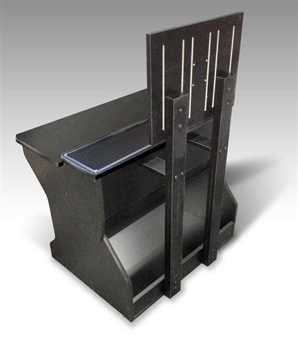 The Xtension Sit Down Pedestal Arcade Cabinet For Fight Sticks ...