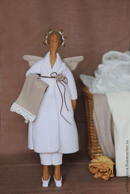 Куклы Тильды ручной работы. Ярмарка Мастеров - ручная работа Банная фея.. Handmade.