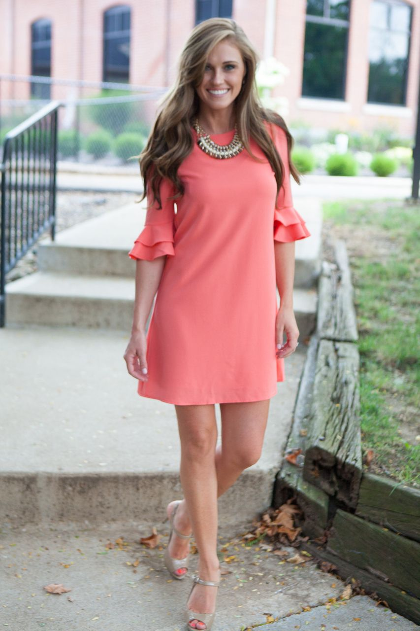 Magnolia Boutique Indianapolis - Southern Charmer 3/4 Sleeve Dress ...