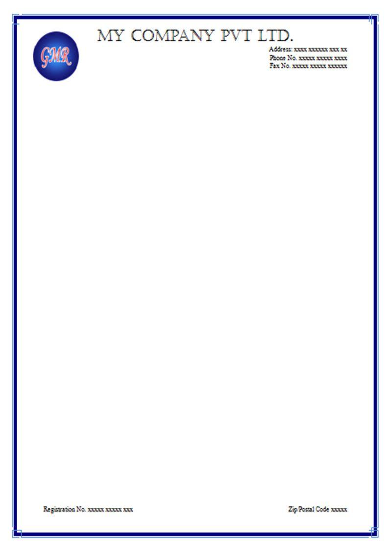Letterhead template psd professional company designs free sample letterhead template psd professional company designs free sample example format download wajeb Choice Image