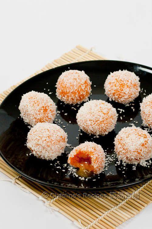 Sweet Potato Glutinous Rice Balls Christine S Recipes Easy