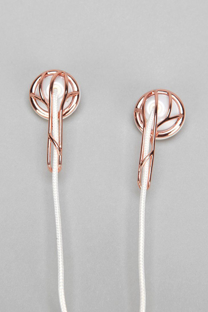 Frends Ella Earbud Headphones Urban Outfitters Gold