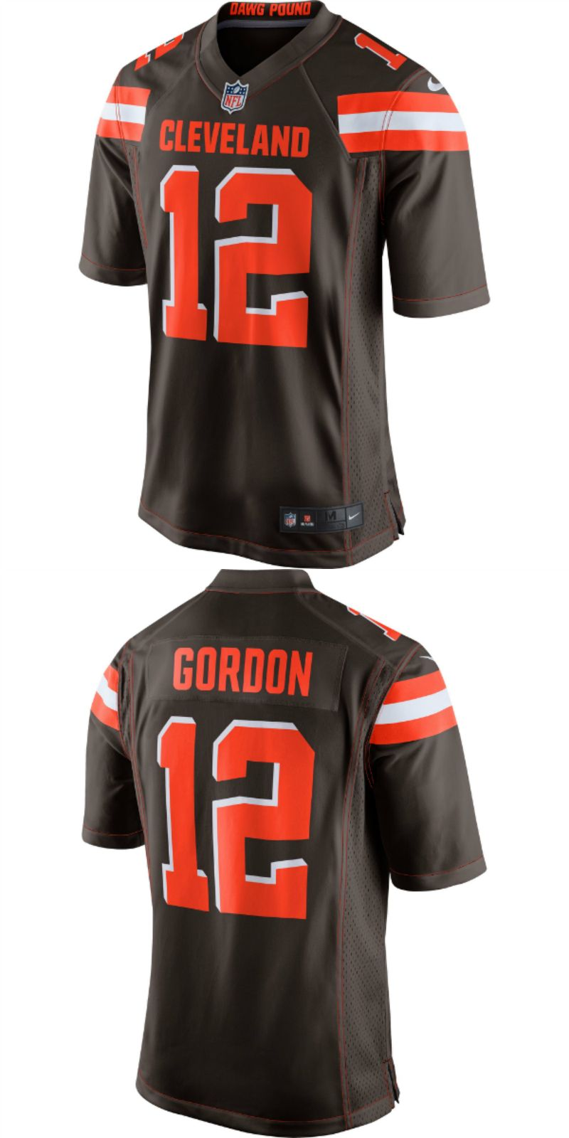 the best attitude 2f723 76e80 UP TO 70% OFF. Josh Gordon Cleveland Browns Nike Game Jersey ...