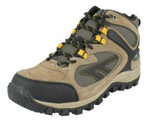 Hi Tec - Zapatillas de Piel para Hombre, Color Blanco, Talla 6.5