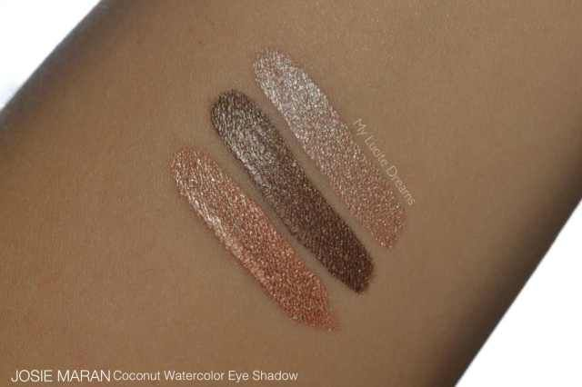 Josie Maran Coconut Watercolor Eye Shadow Review02 Josie Maran