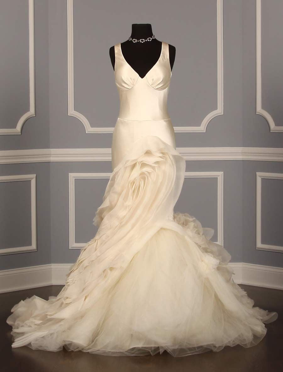 Vera Wang Janice 121112 Discount Designer Wedding Dress~ This ...