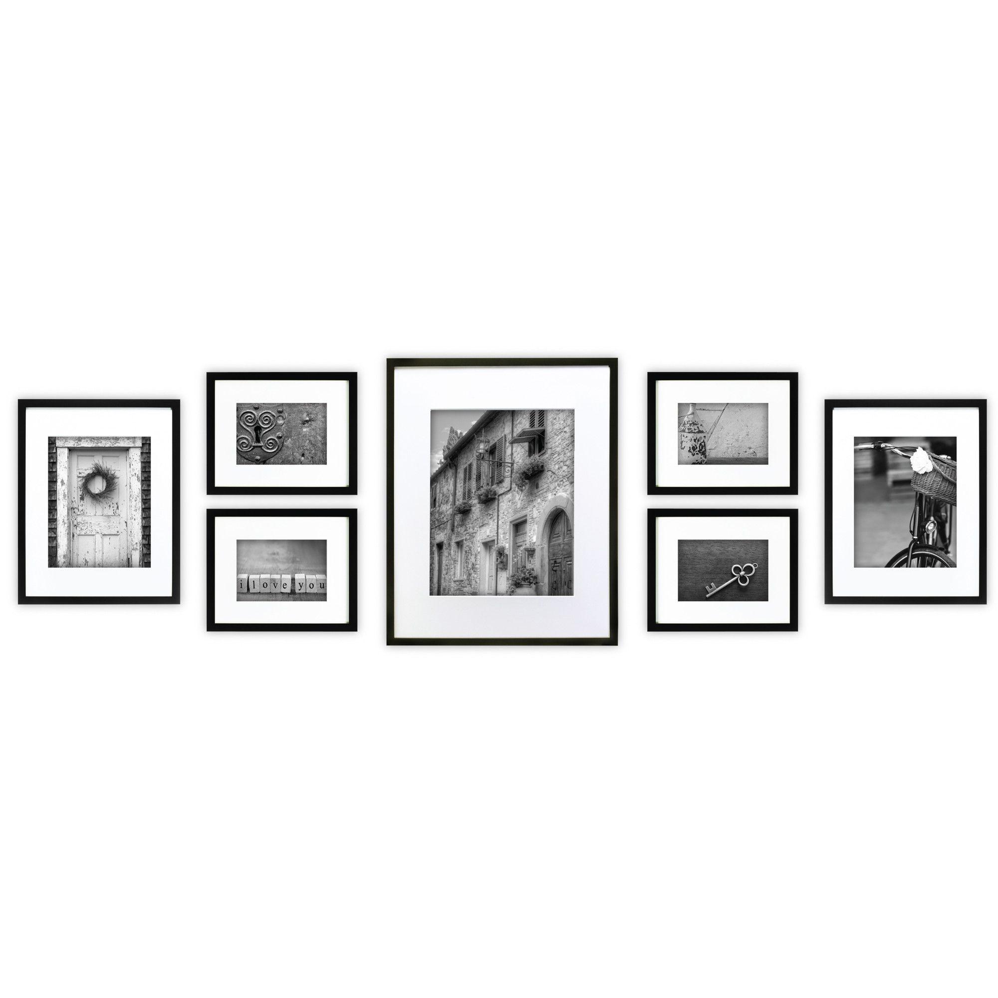 Nielsenbainbridge gallery piece perfect wall picture frame set