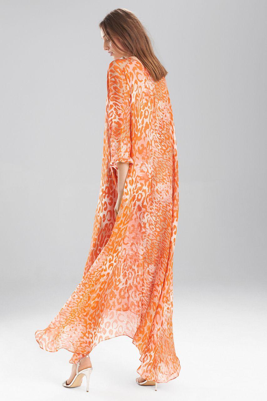 6bb18feb0177 Josie Natori Shadow Leopard Caftan | Fall 2016 | Fashion, Dresses ...