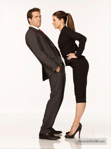 Ryan Reynolds Sandra Bullock The Proposal 2009 Publicity