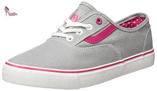 Casual, Chaussures de Fitness Femme, Gris (Grey Grey), 36 EUBeppi