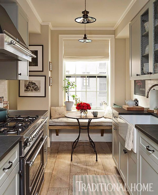 Apartment Galley Kitchen Designs: Rustic Charm In A Greenwich Village Apartment