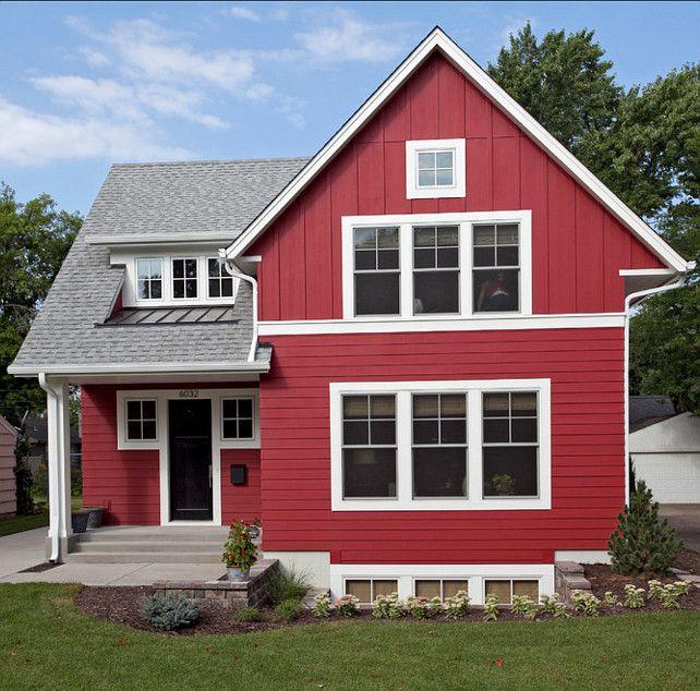 Perfect Certainteed Autumn Red Vinyl Siding | Exterior | Pinterest | Vinyl Siding,  Exterior Siding And Porch Designs