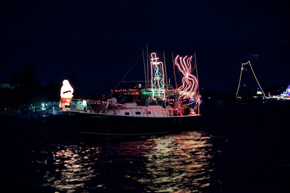 Christiansted Christmas Boat Parade 2012 Photo credits to