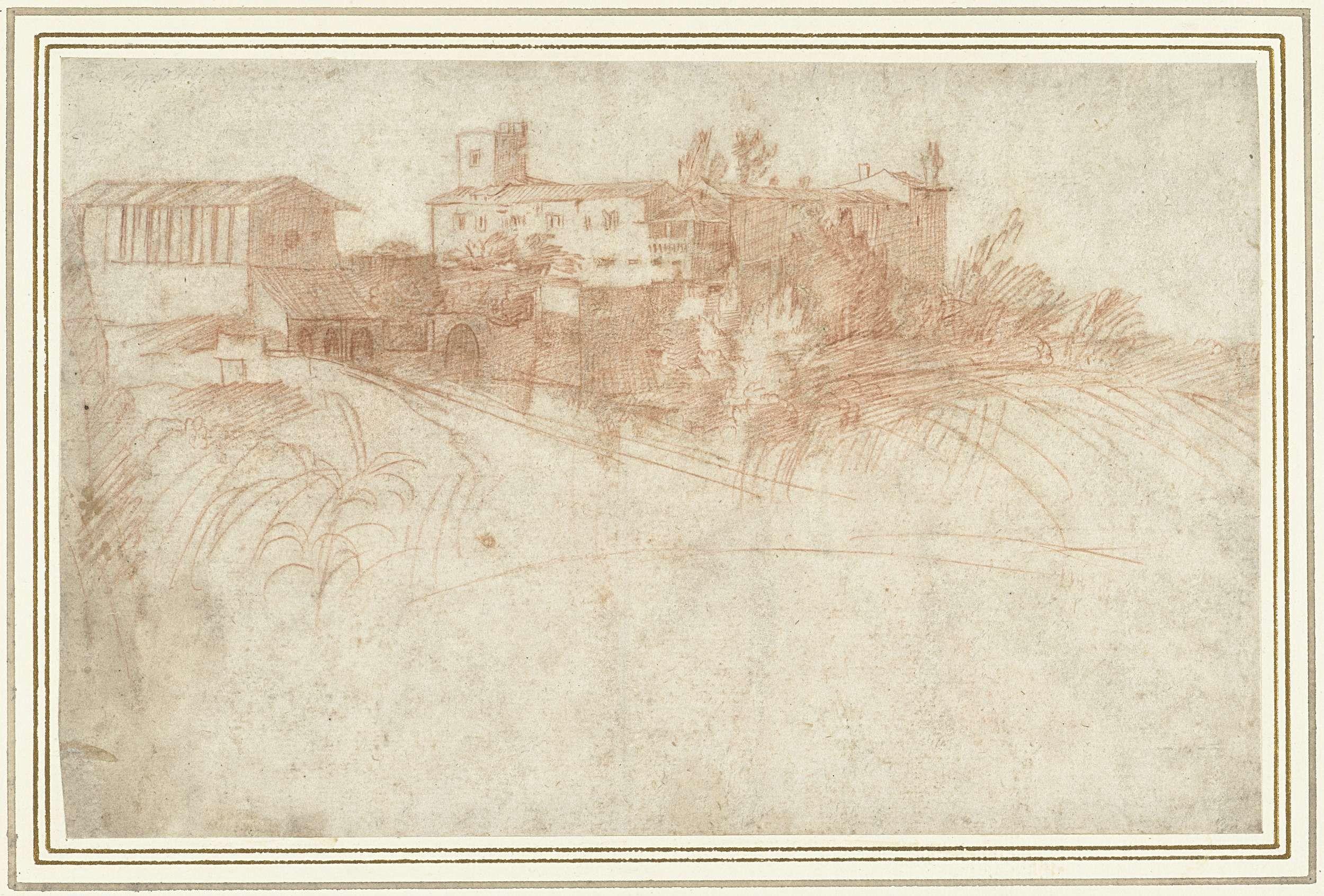 Michele Tosini | Kloostercomplex in de bergen, Michele Tosini, 1513 - 1577 |