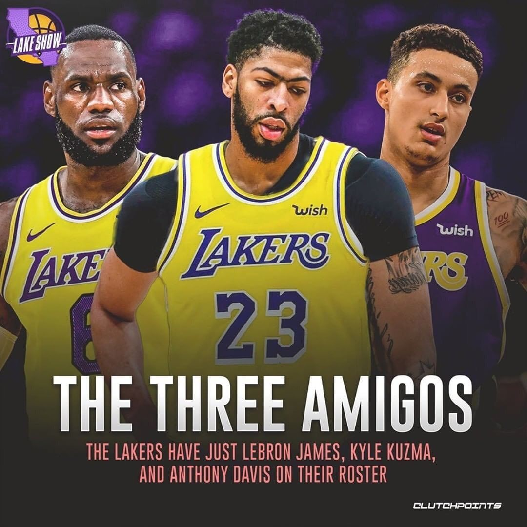 Ximo Pierto On Instagram The Los Angeles Lakers Currently Have 3 Active Players Who Are Under Contract Who Los Angeles Lakers Basketball Photography Lakers