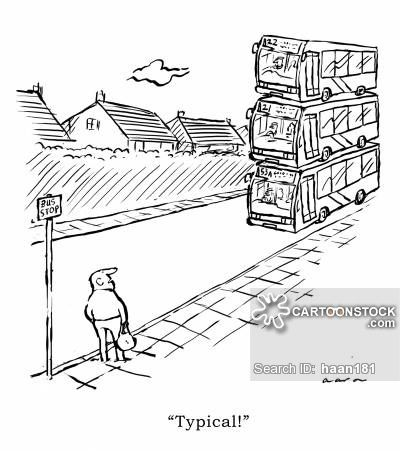 Bus Driver cartoons, Bus Driver cartoon, funny, Bus Driver