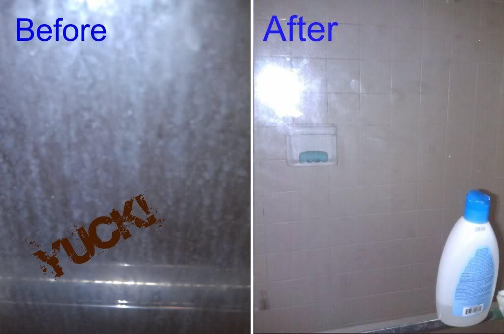 How To Keep A Glass Shower Door Clean With Images Clean Shower
