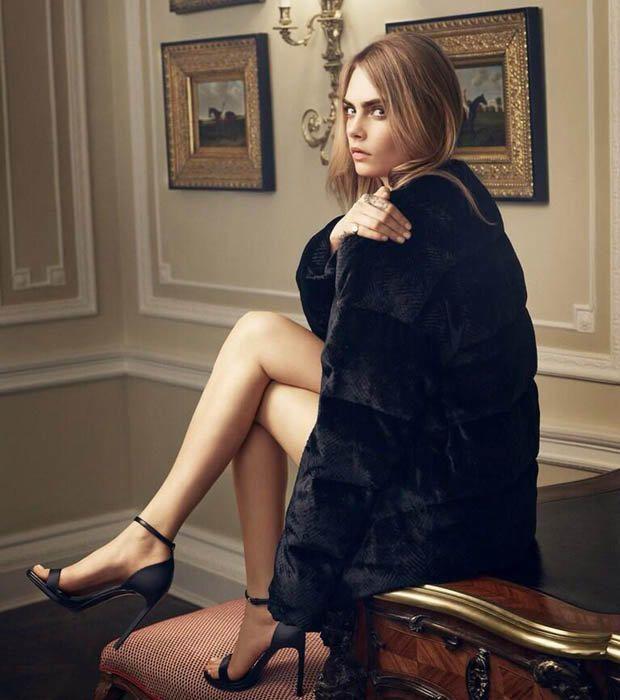 Cara Delevingne Models Her Mulberry Line - Fashionista