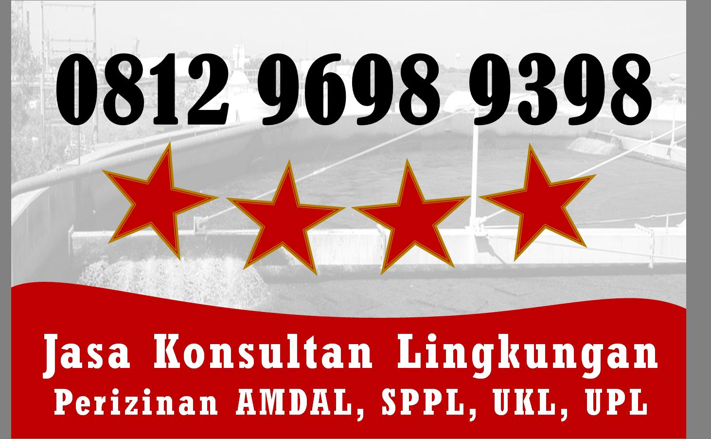 Order Sekarang Telp Wa 0812 9698 9398 Contoh Dokumen Ukl Upl Rumah Sakit Jambi Kota Manado Teknik Lingkungan Kota Balikpapan