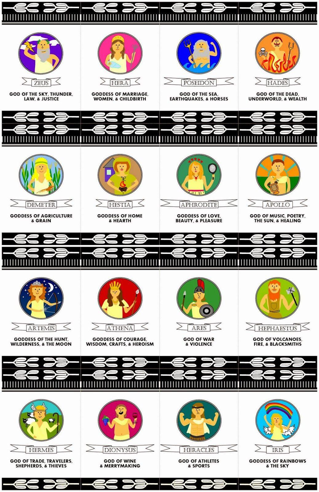 Uncategorized Pictures Of Greek Gods For Kids relentlessly fun deceptively educational greek mythology matching card game