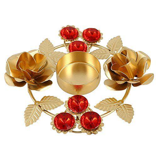 Home Dekoration Indische Diwali Lampe Lichter Kerze Halter  Blumenarrangements