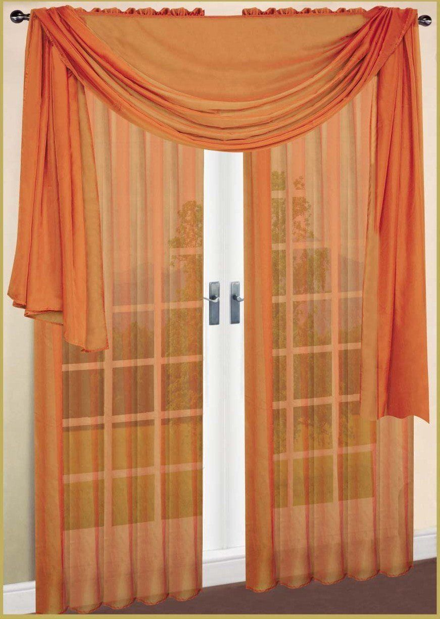 Pretty Door Curtain With Light Orange And Transparent Fabric For Wonderful Room Decor Ideas Also Sheer 871 1225 Astonishing Curtain Design Drapes Blinds Sheer Curtains Home Decor Styles