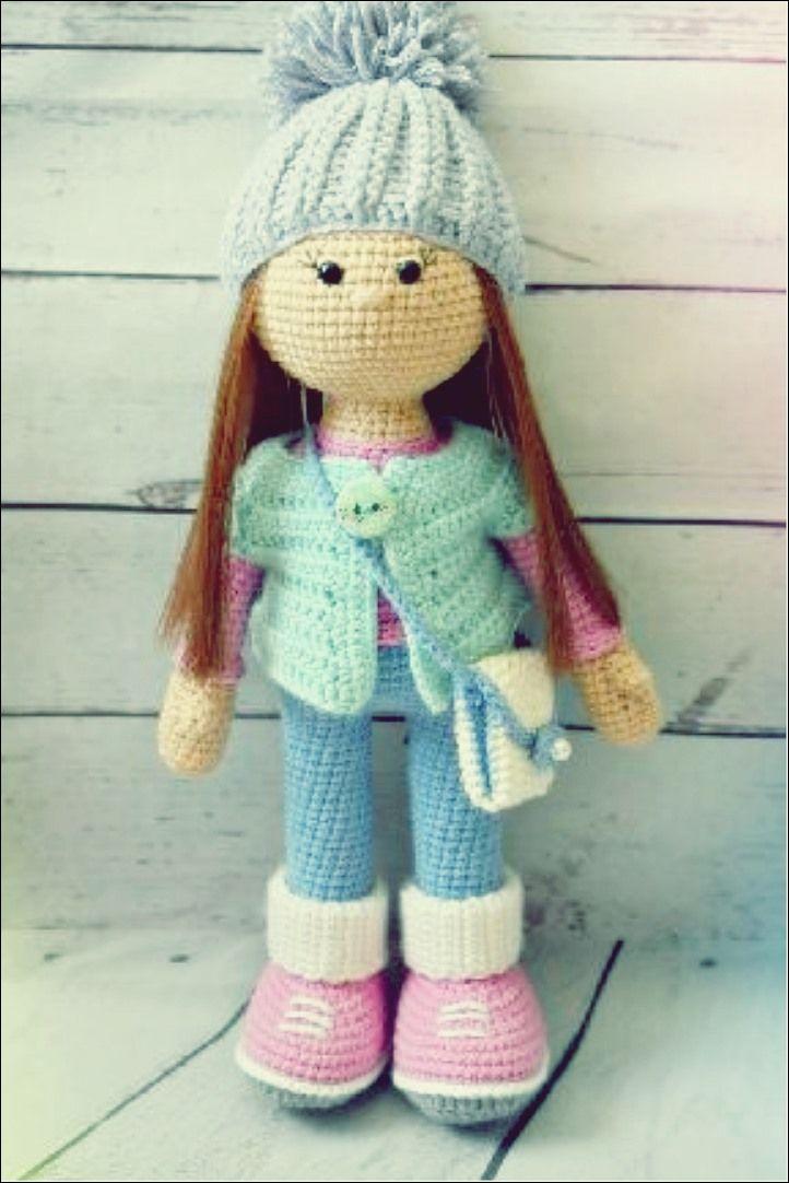 Photo of Puppe Schritt für Schritt stricken – Amigurumi X.