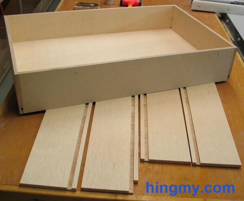 How to build a drawer box | DIY Tips from Hingmy.com in 2019 ...